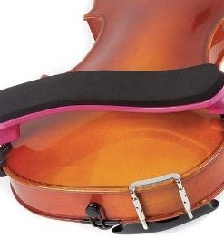 Everest Pink ES Series 1/4-1/10 Violin Adjustable Shoulder Rest
